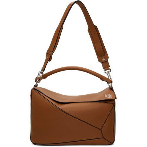Loewe Tan Puzzle Bag UNI