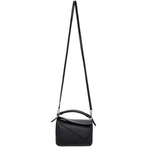 Loewe Black Mini Puzzle Bag UNI
