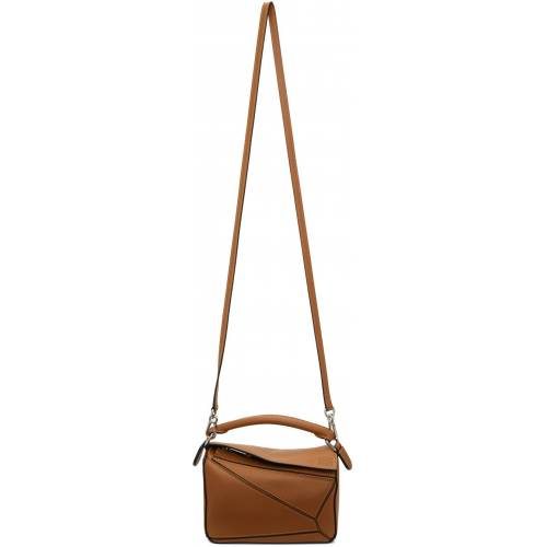 Loewe Tan Mini Puzzle Bag UNI