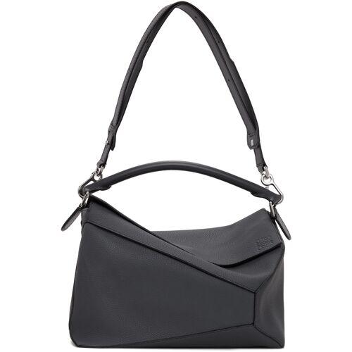 Loewe Grey Large Puzzle Edge Bag UNI
