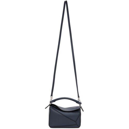 Loewe Navy Mini Puzzle Bag UNI