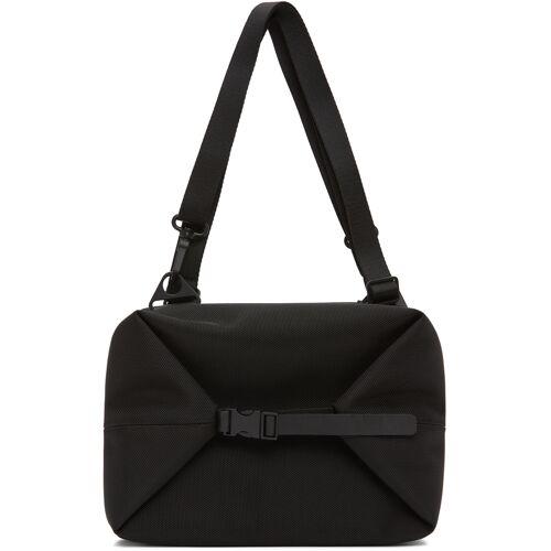 Côte & Ciel Black AAR Ballistic Messenger Bag UNI
