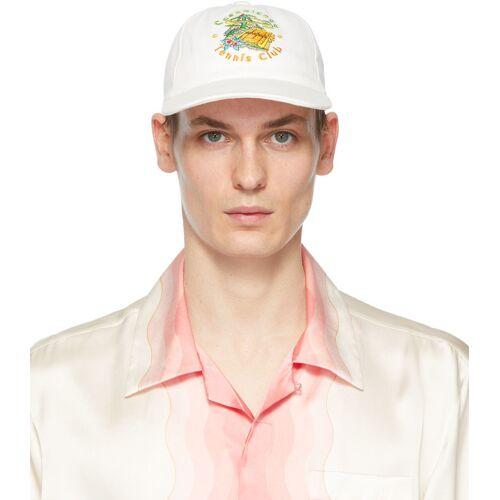 Casablanca Off-White 'Casablanca Tennis Club' Cap 56
