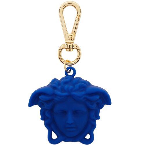 Versace Blue 'La Medusa' Keychain UNI