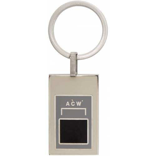 A-COLD-WALL* Silver Alloy Keychain UNI