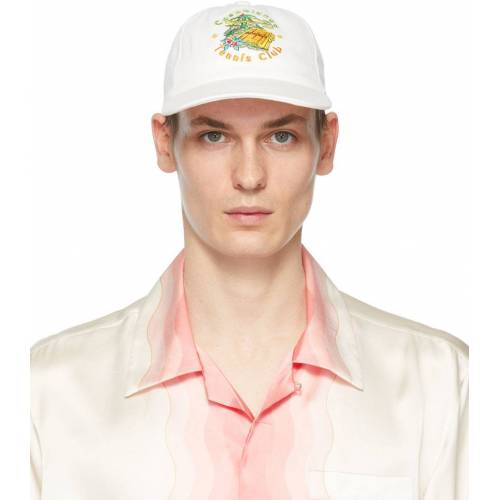 Casablanca Off-White 'Casablanca Tennis Club' Cap 56