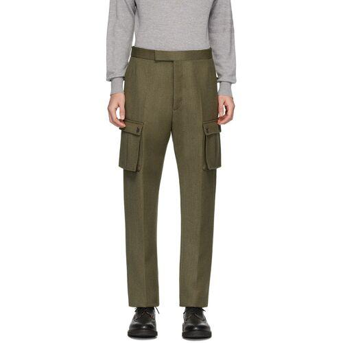 Thom Browne Green Norfolk Cargo Pants 32