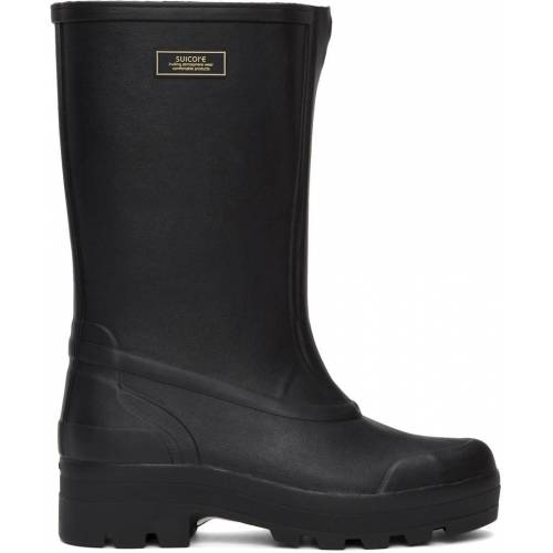 Suicoke Black Tamb-B Rubber Boots 38