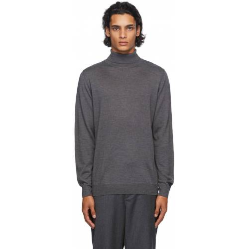 A.P.C. Grey Dundee Turtleneck S