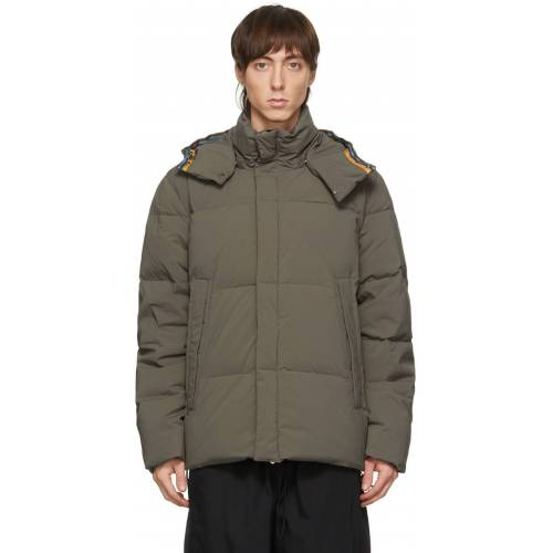 Paul Smith Brown Down Short Parka S