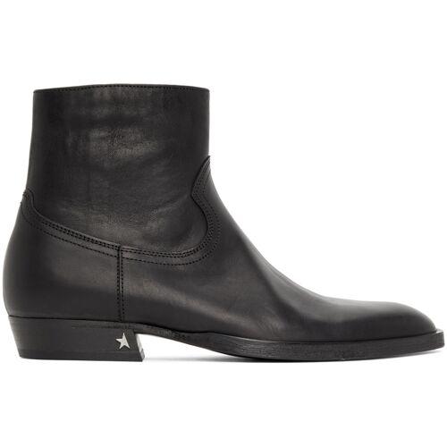 Golden Goose Black Rock Jimi Zip Boots 39