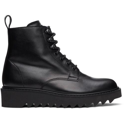 Giuseppe Zanotti Black Nevada Boots 45