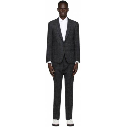 Thom Browne Grey Tattersall Check Classic SB Suit M