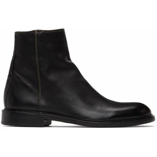 PS by Paul Smith Black Zip Billy Boots 40