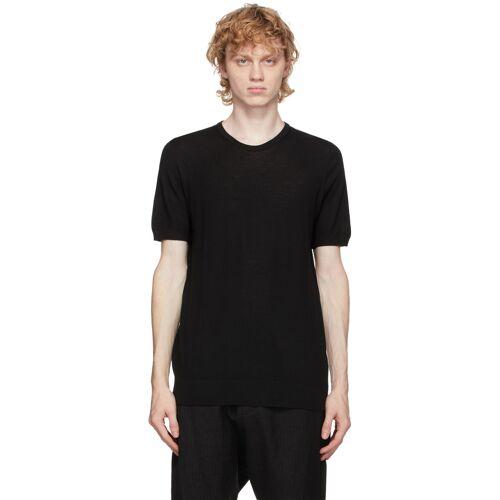 3MAN Black Wool T-Shirt S