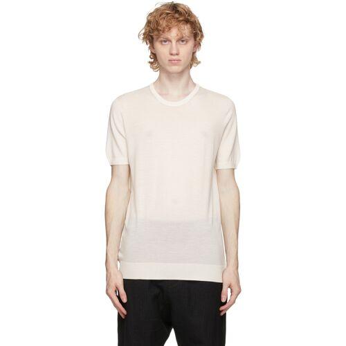 3MAN Off-White Wool T-Shirt S