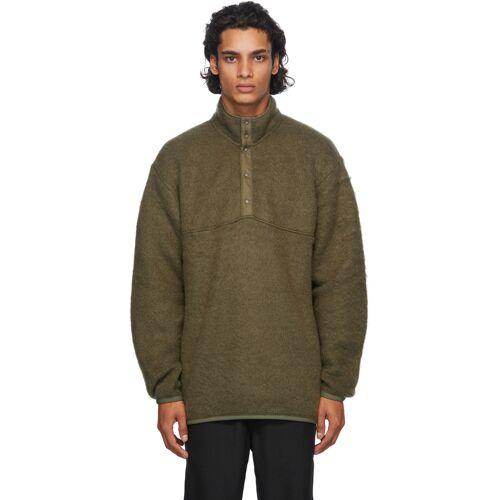 Nanamica Green Nanamican Pullover Sweater S
