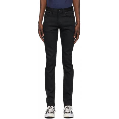 Naked & Famous Denim Black Super Guy Jeans 27