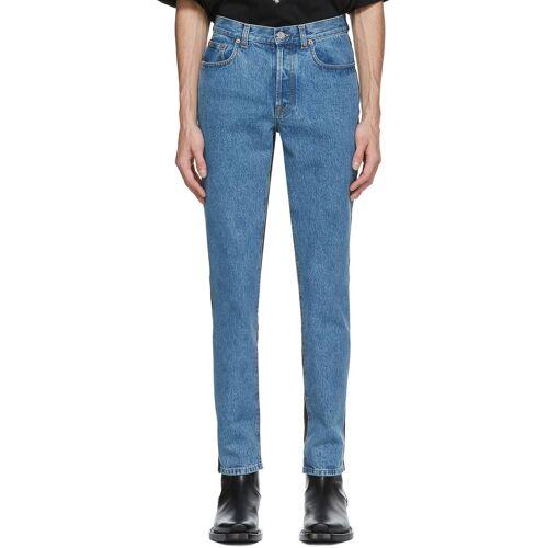 VETEMENTS Blue & Black 50-50 Jeans 34
