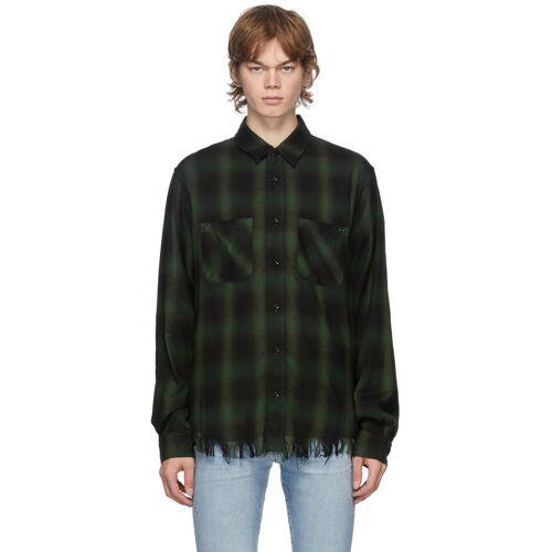 AMIRI Green Core Shadow Plaid Shirt XS