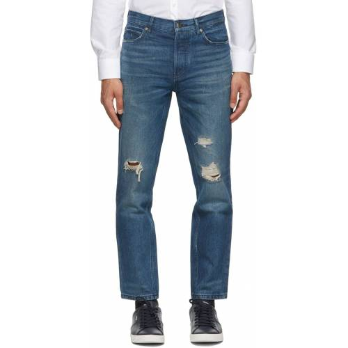 Hugo Blue Distressed 634 Jeans 36
