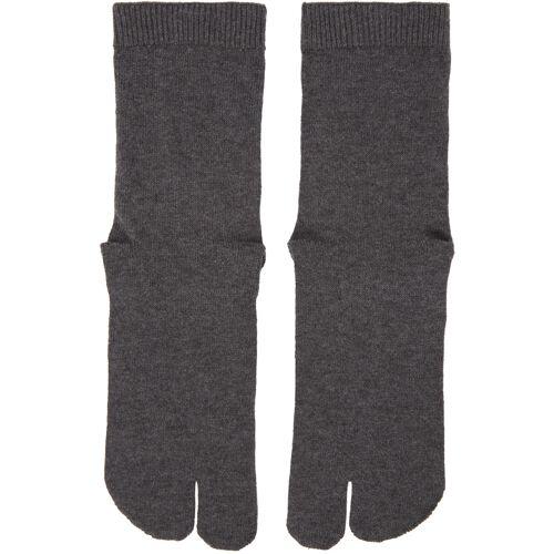 Maison Margiela Grey Tabi Socks 44/45