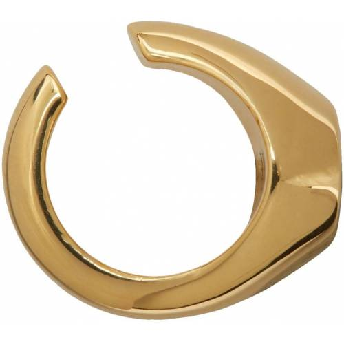 D'heygere Gold Signet Ear Cuff UNI