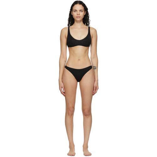 Oséree Black Lumière Sporty Bikini 38