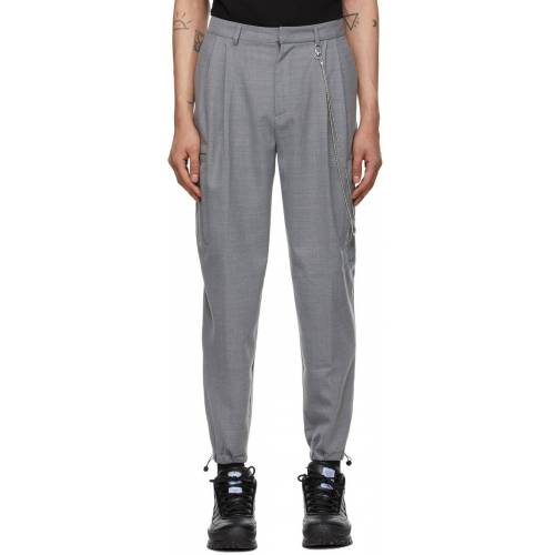 MCQ Grey Multipocket Trousers 30