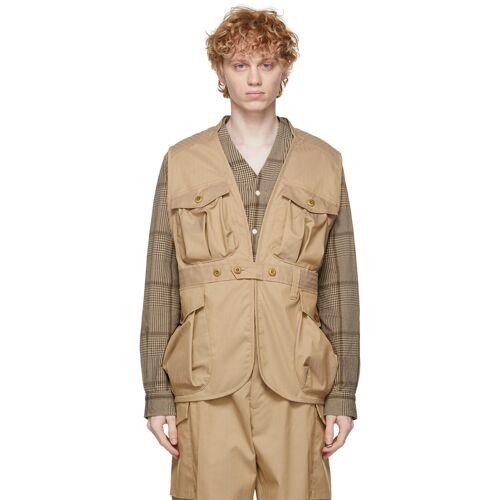 ts(s) Khaki Herringbone Vest M