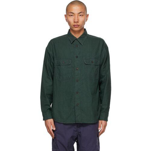 Visvim Green Check Lumber Khadi Shirt XXL