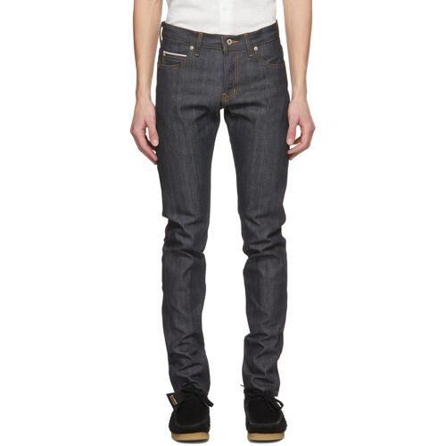 Naked & Famous Denim Blue Super Guy Jeans 28