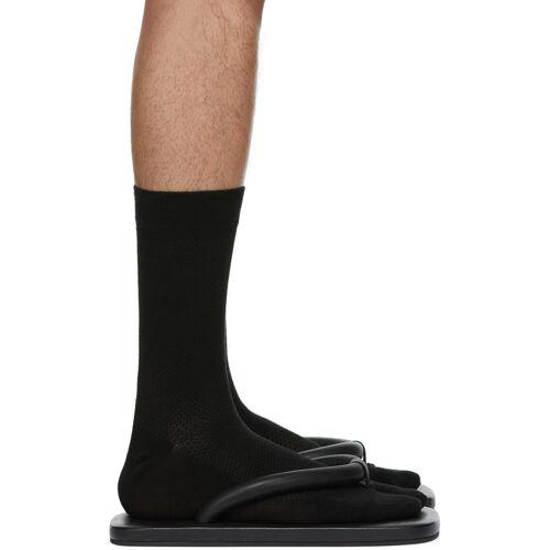 CamperLab Black Hastalavista Flip Flops 40
