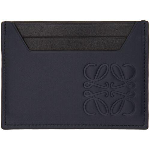 Loewe Navy Classic Plain Cardholder UNI