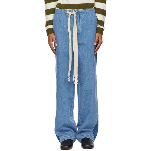 Loewe Blue Drawstring Jeans 36