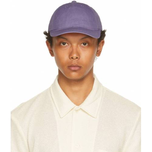 Our Legacy Purple Thermochromic Ball Cap 56