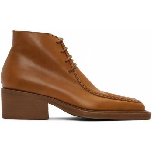 Pro-Ject Y/Project Tan Duck Bill Ankle Boots 41