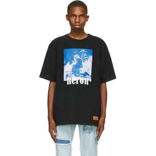 Heron Preston Black & Blue Herons T-Shirt S