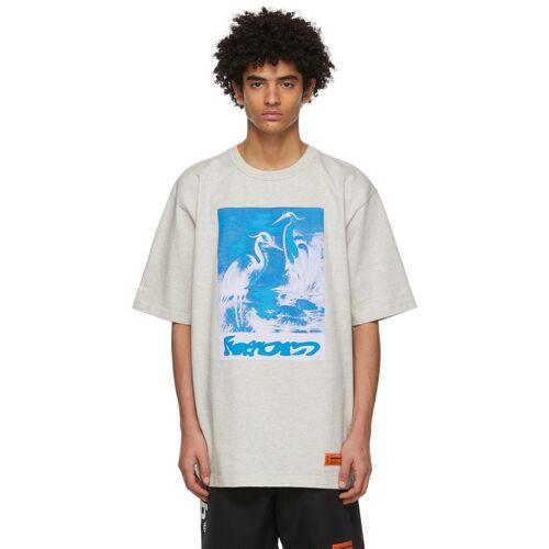 Heron Preston Grey Herons T-Shirt XS