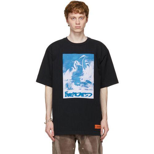 Heron Preston Black Captcha T-Shirt XXS