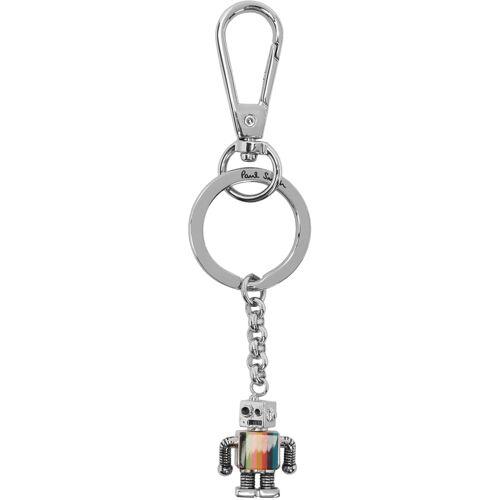 Paul Smith Silver Robot Keychain UNI