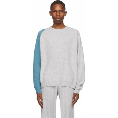 Frenckenberger Grey & Blue R-Neck Sweater XL