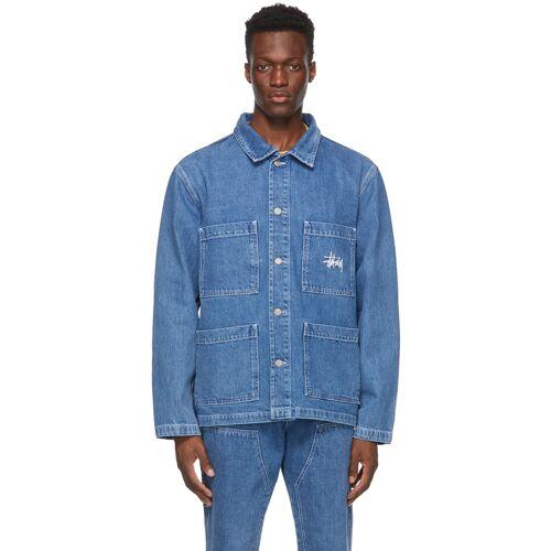 Stüssy Blue Denim Chore Jacket M