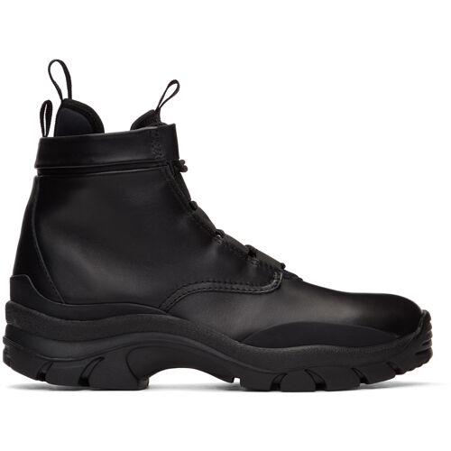 John Elliott Black Speed Lace-Up Boots 40
