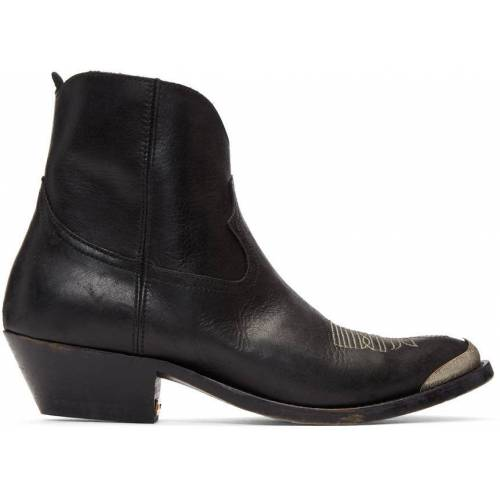 Golden Goose Black Young Boots 37