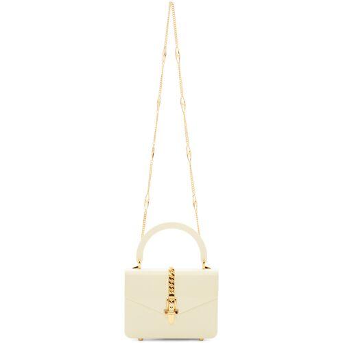 Gucci White Plexiglass Mini Sylvie Top Handle Bag UNI