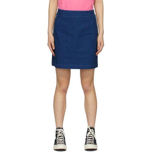 A.P.C. Blue Shanya Miniskirt 24