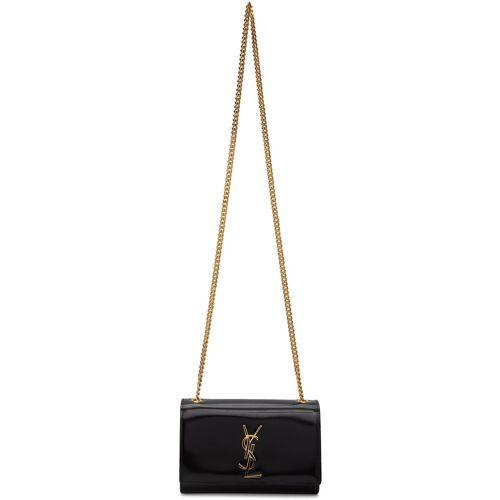 Saint Laurent Black Patent Small Kate Bag UNI
