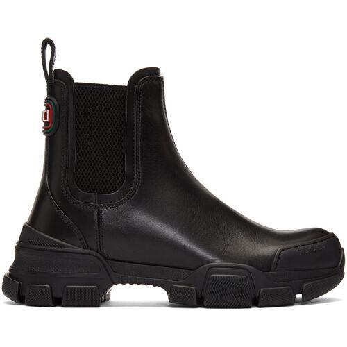 Gucci Black Leon Boots 35