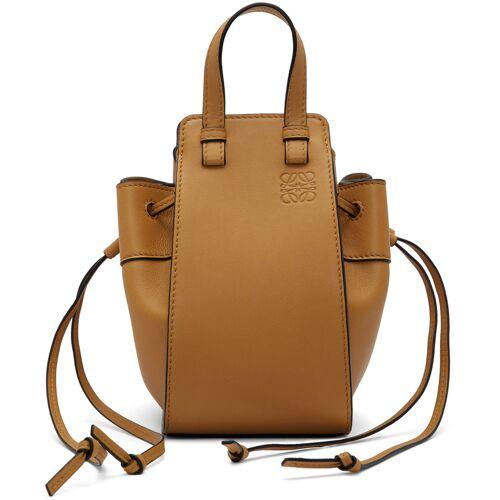 Loewe Tan Mini Hammock Bag UNI